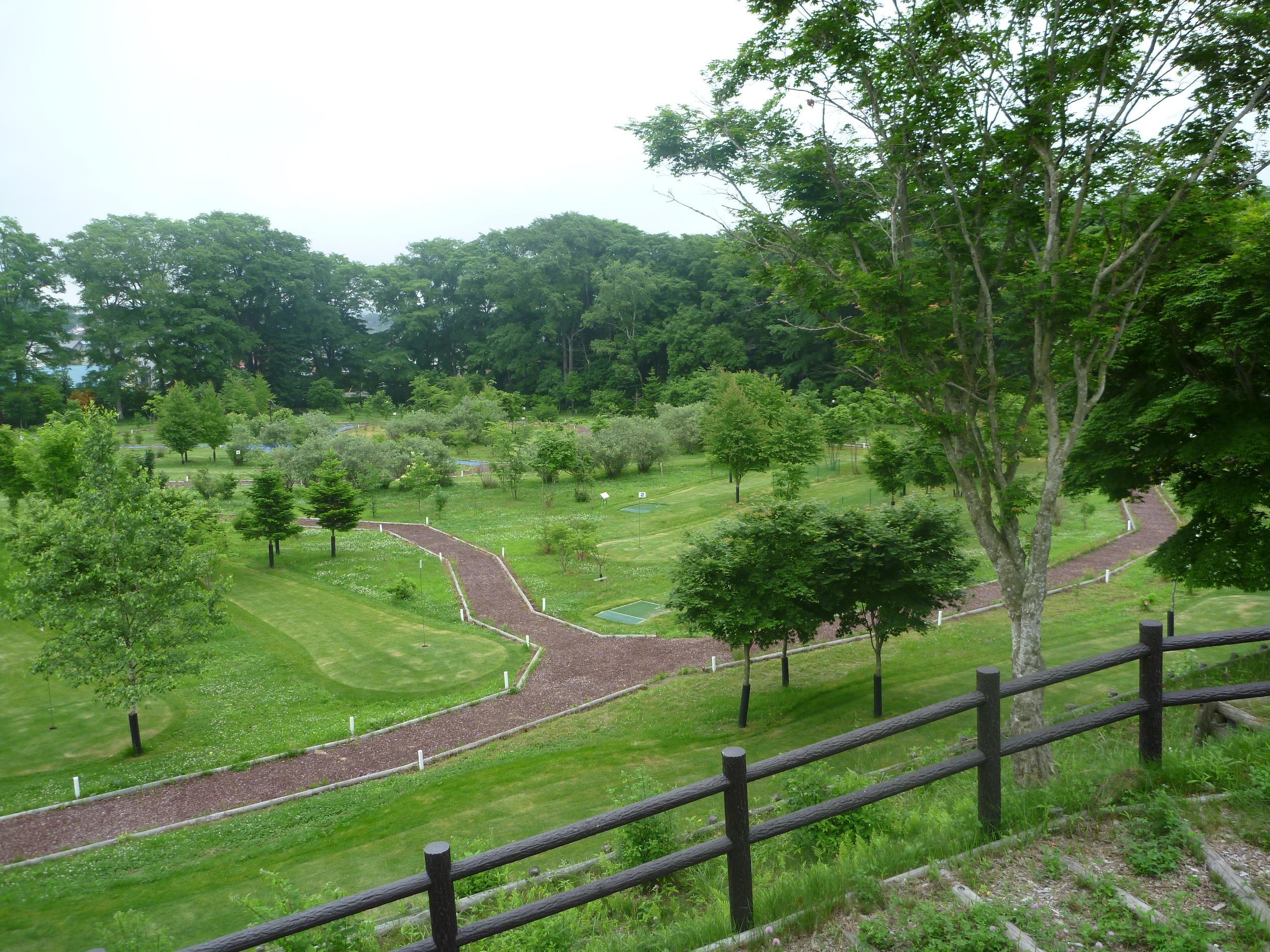 鹿公園 パークゴルフ