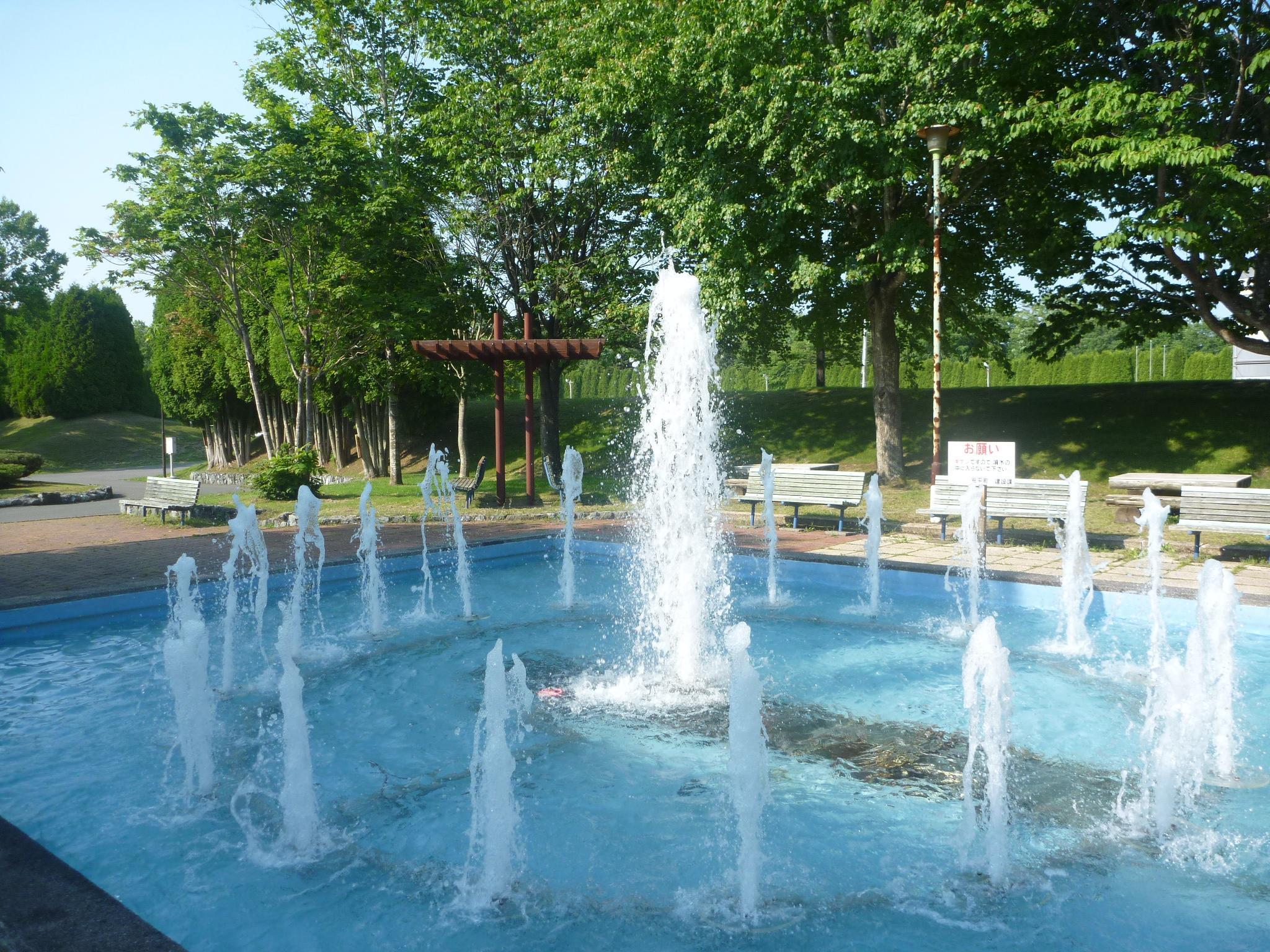 ときわ公園 噴水