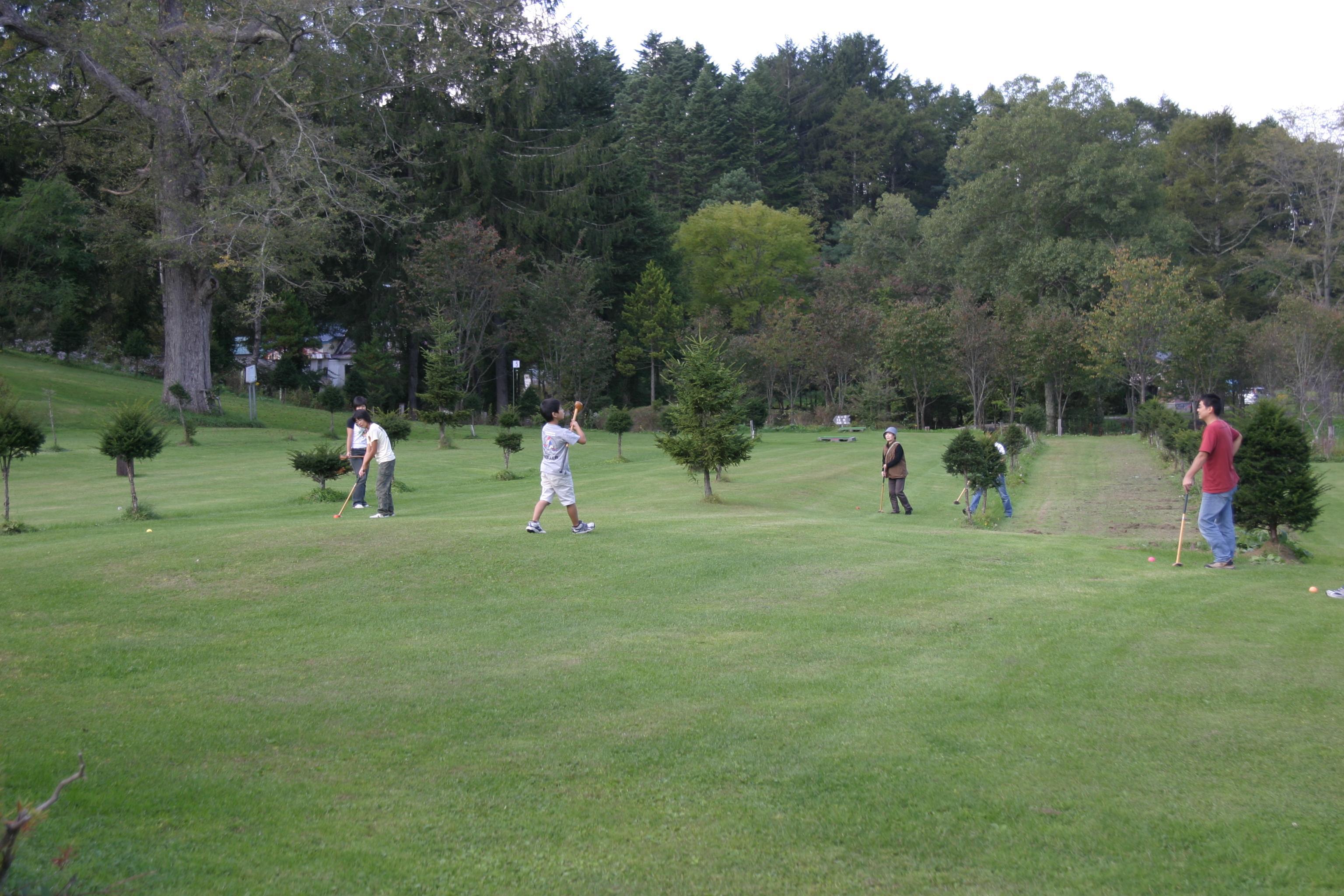 ときわキャンプパークゴルフ